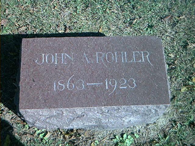 John Andrew Rohler
