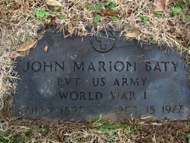 John Marion Baty