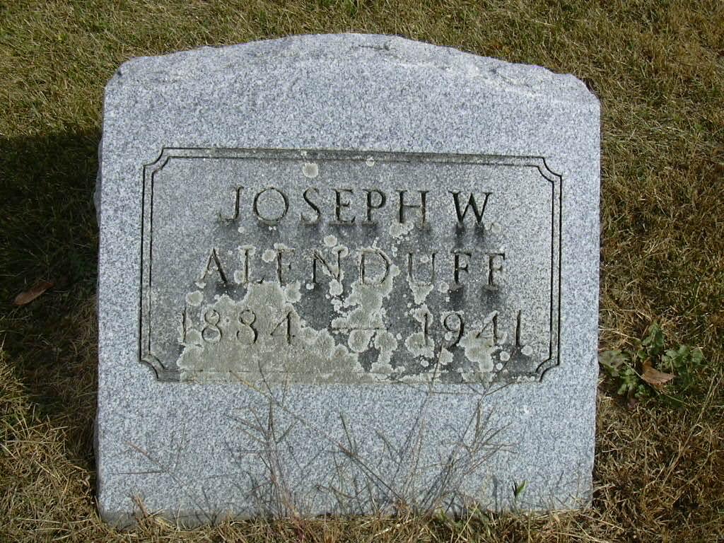 Joseph W. Alenduff