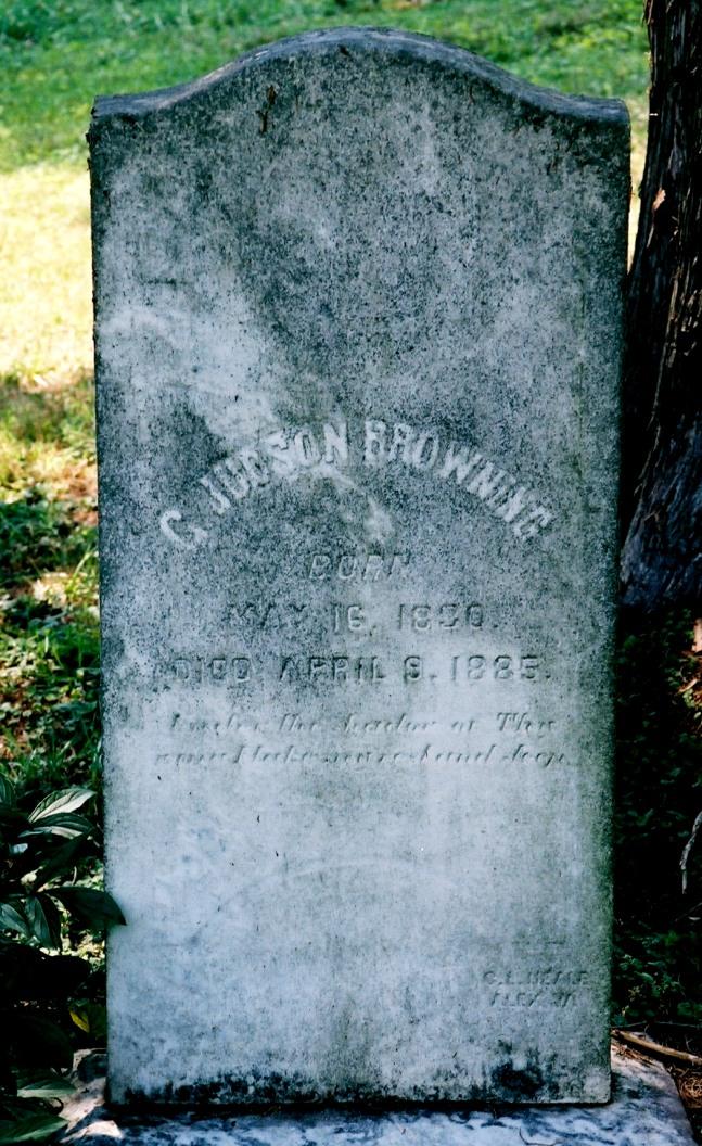Capt Gustavus Judson Browning