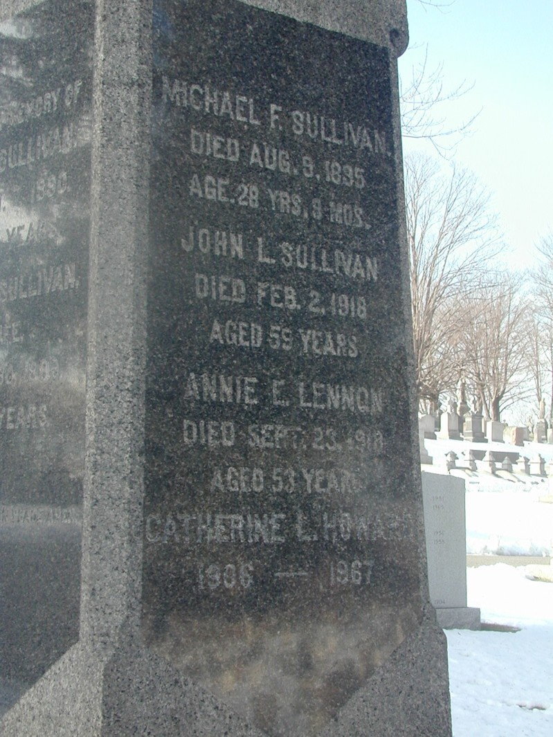 John L  Sullivan (1858-1918) - Find A Grave Memorial