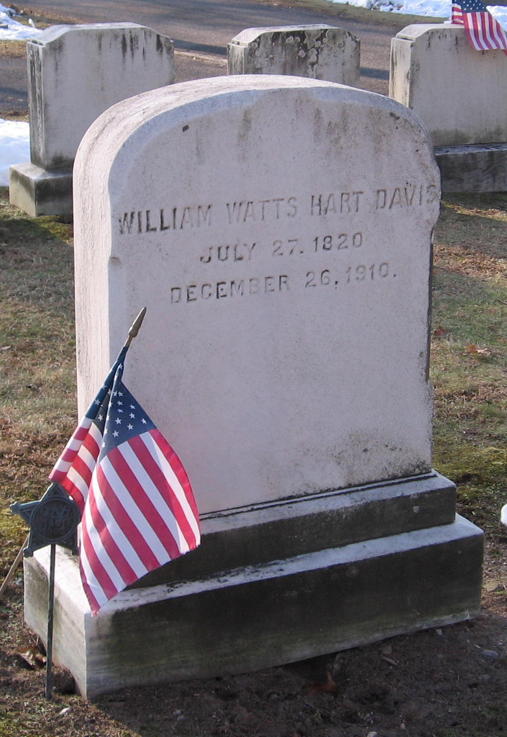 William Watts Hart Davis
