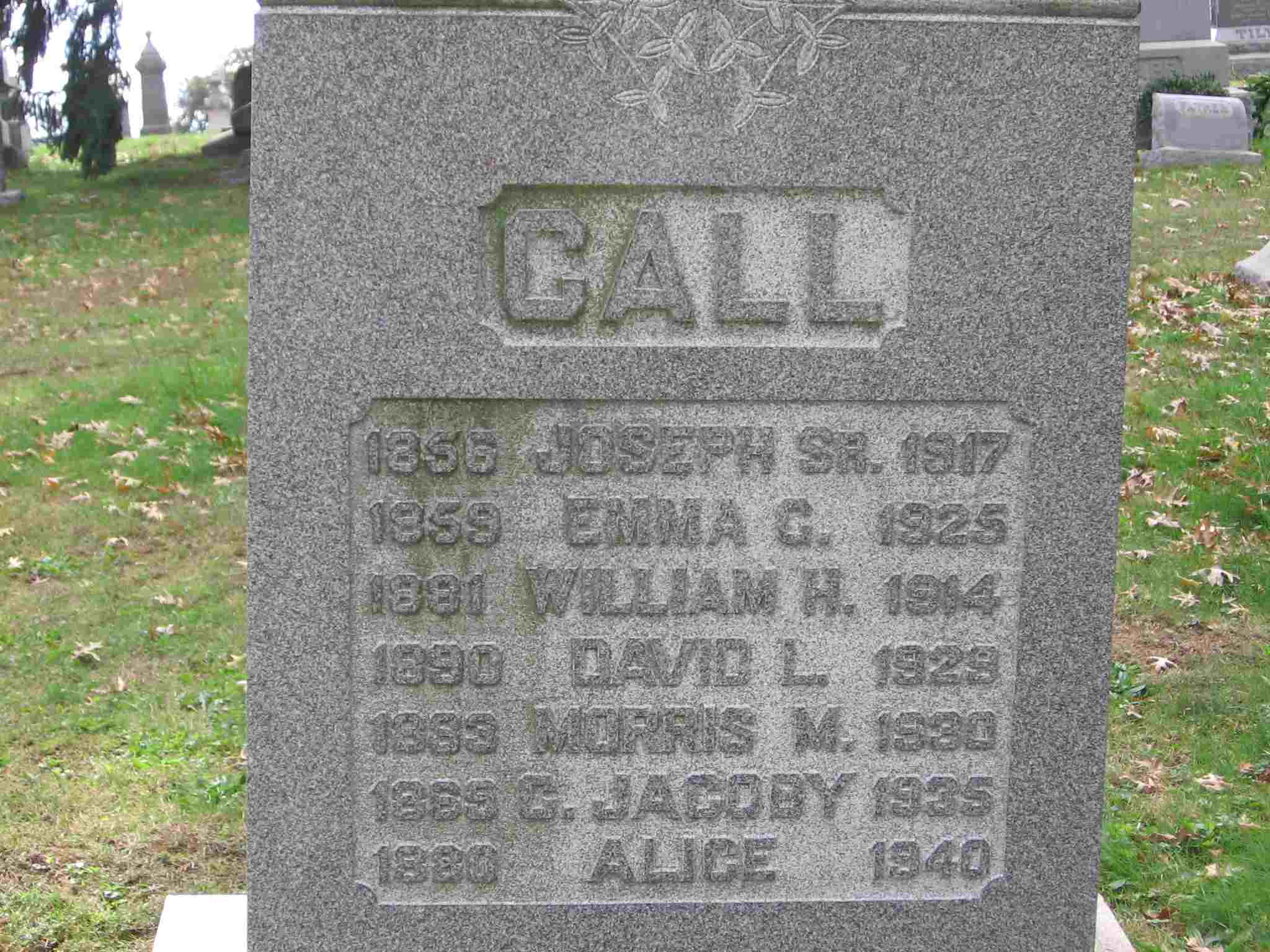 Joseph Call, Sr