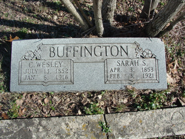 Sarah S. <i>Mahan</i> Buffington