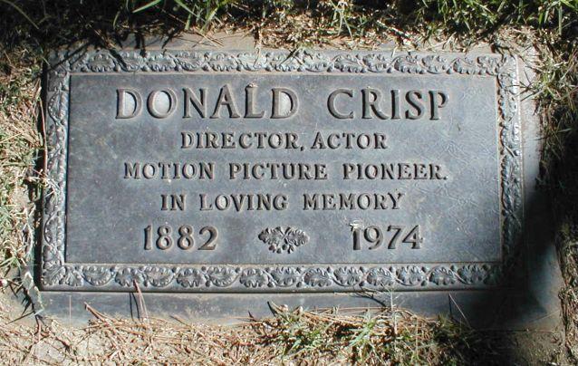 Donald Crisp