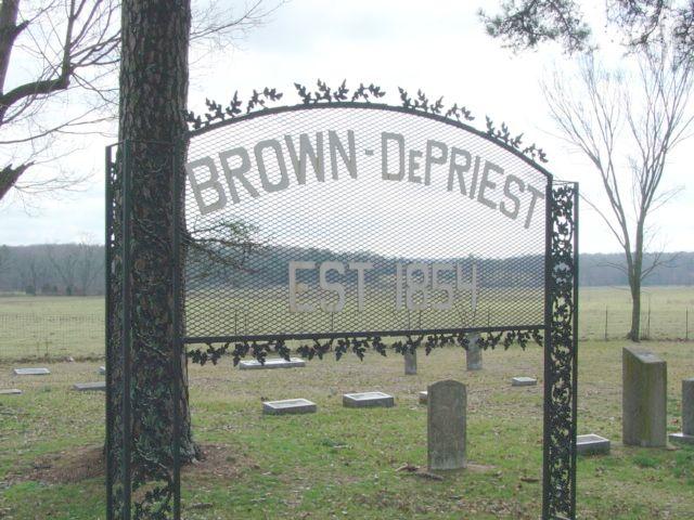 Brown-DePriest Cemetery