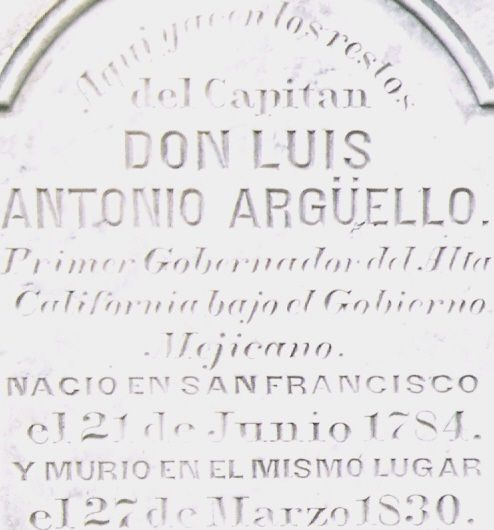 Capt Luis Antonio Arguello