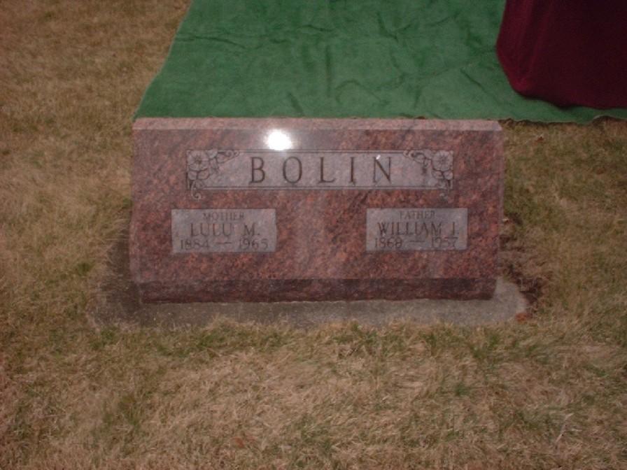 William I Bolin
