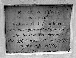 Eliza Wilson <i>Lewis</i> Claiborne