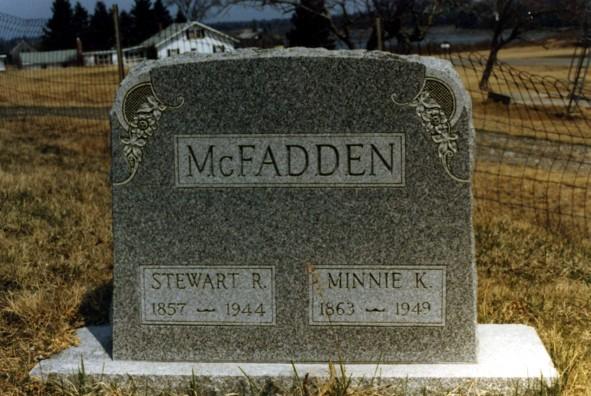 Minnie <i>Kelly</i> McFadden