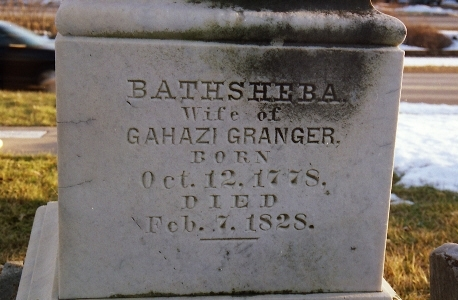 Bathsheba <i>Nelson</i> Granger