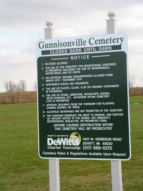 Gunnisonville Cemetery