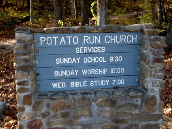 Potato Run Church Cemetery