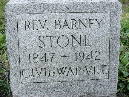 Rev Barney Stone
