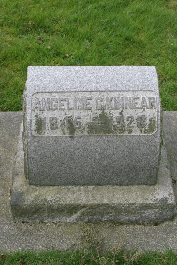 Angeline Catherine <i>Simmons</i> Kinnear