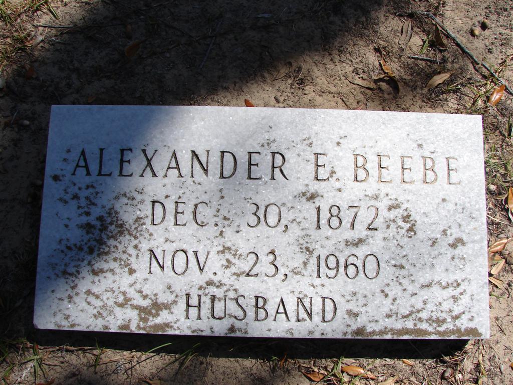 Alexander E. Beebe