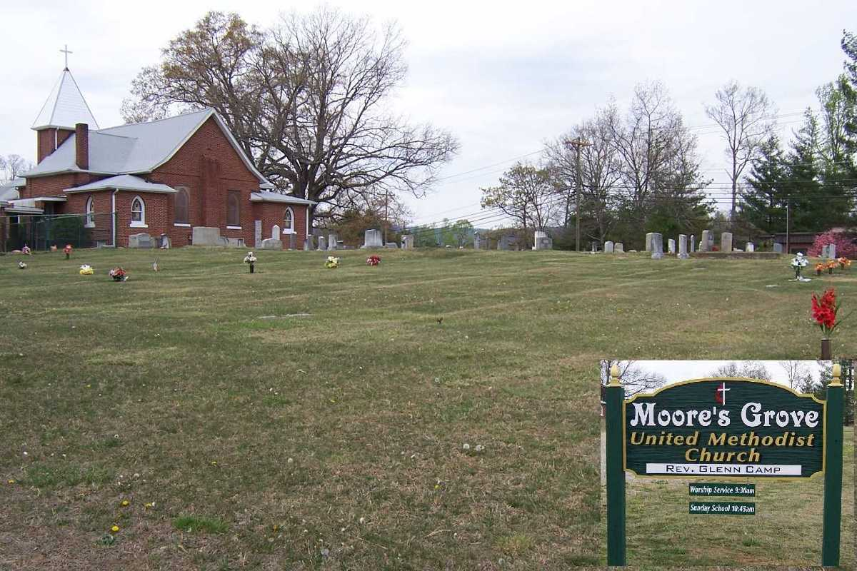 Moores Grove Methodist Cemetery