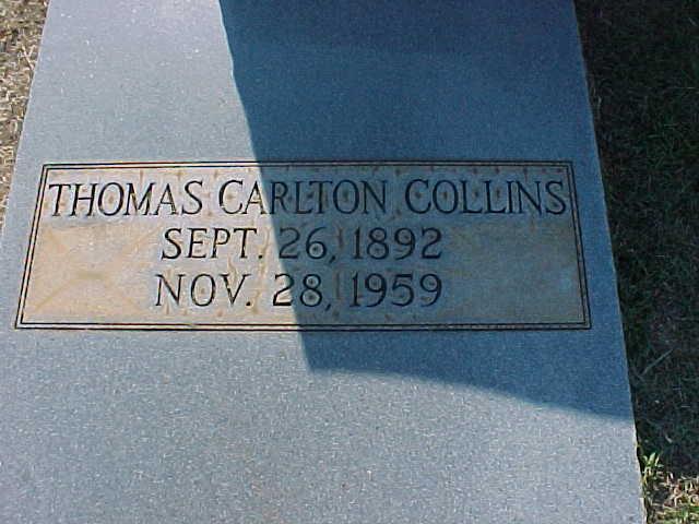 Thomas Carlton Collins