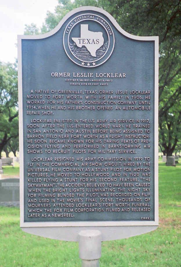 Ormer Leslie Locklear