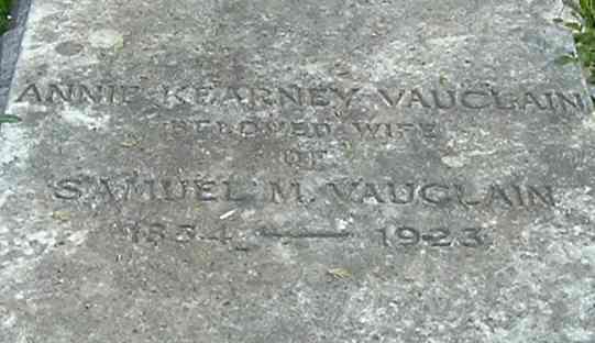 Annie <i>Kearney</i> Vauclain