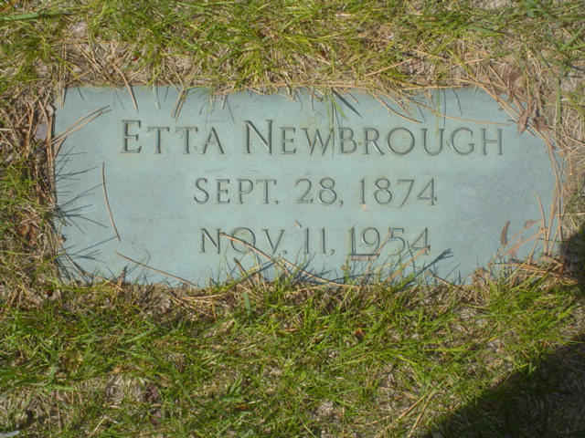 Etta Archineth <i>Milner</i> Newbrough