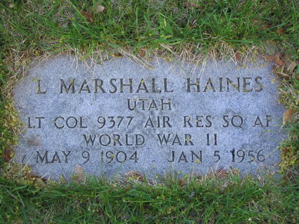 Lewis Marshall Haines