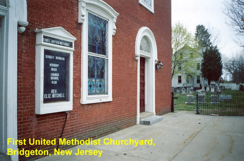 First United Methodist Churchyard