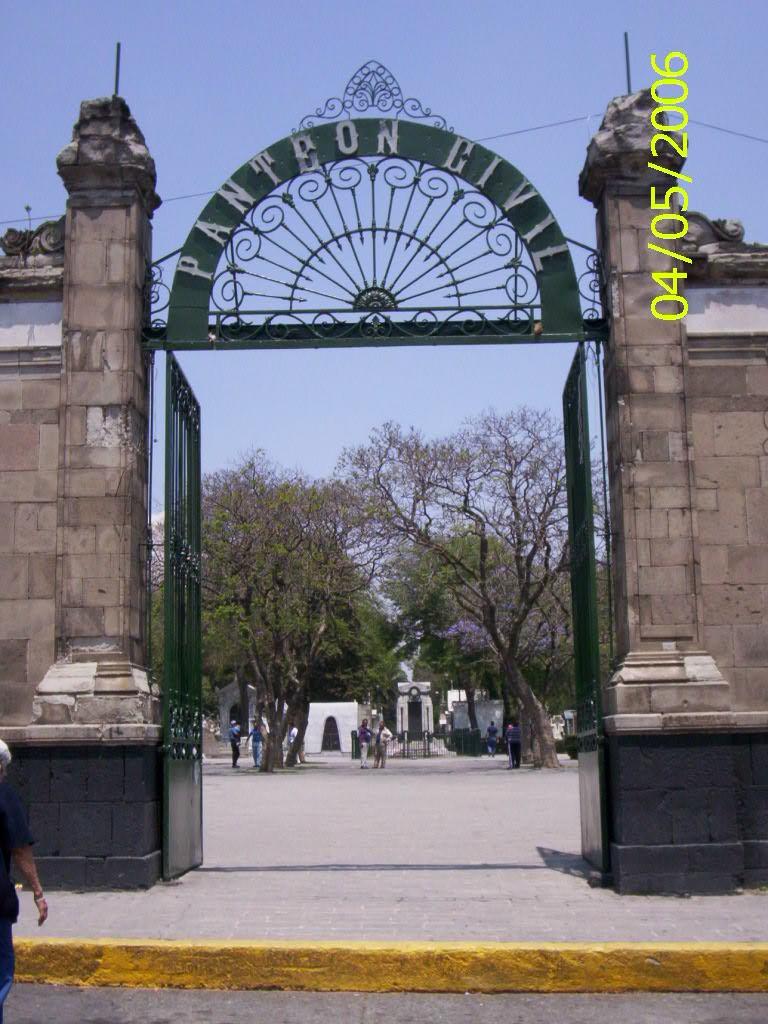 Panteón Civil de Dolores