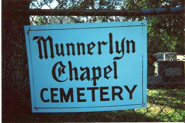 Munnerlyn Chapel Cemetery