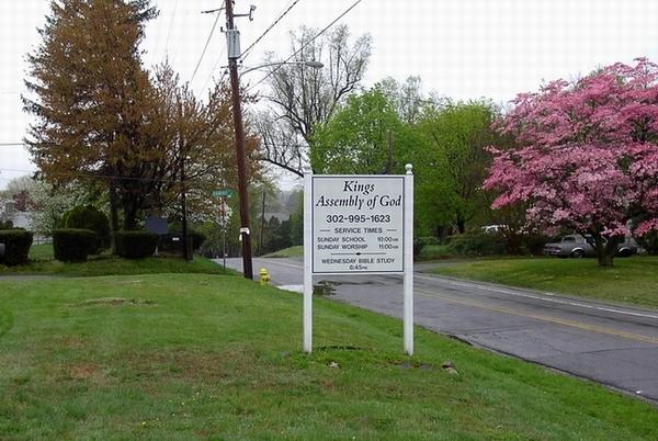 Kings Assembly of God Church Cemetery in Marshallton