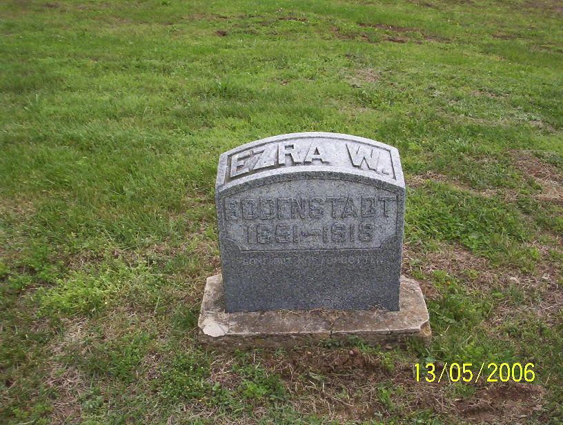 Ezra W. Bodenstadt