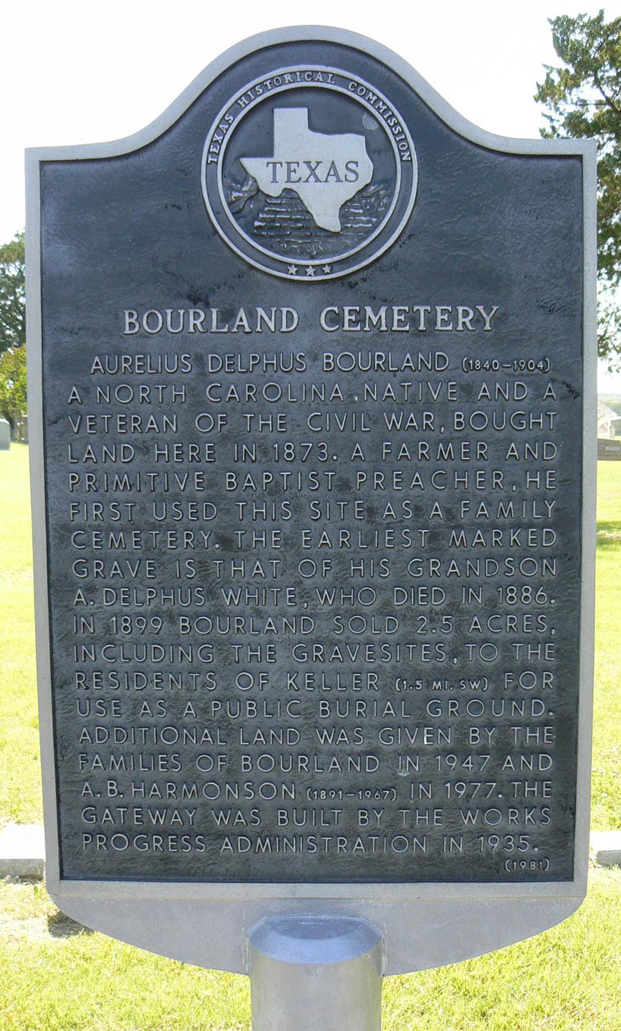 Bourland Cemetery