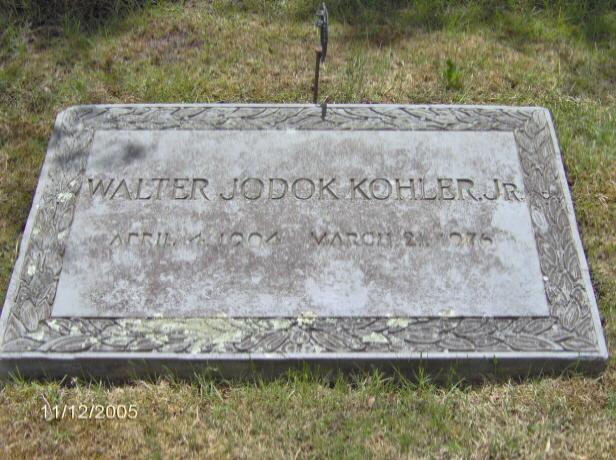 Walter Jodok Kohler, Jr