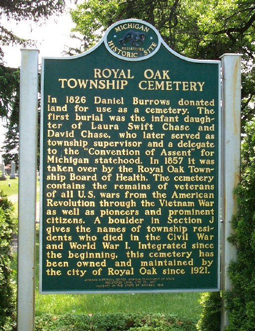 Royal Oak Cemetery