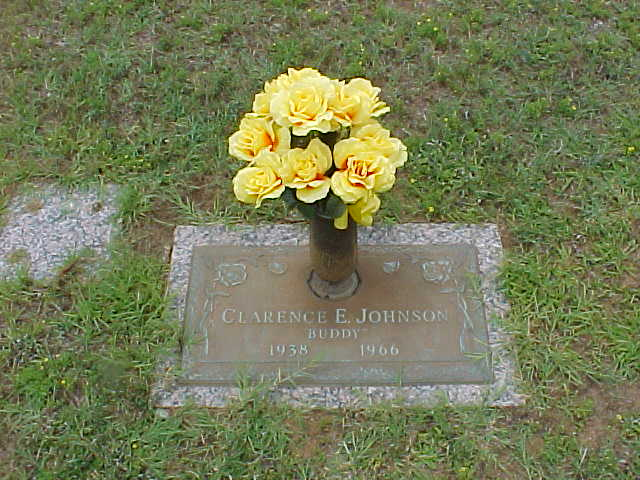Clarence Eugene Buddy Johnson