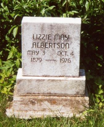 Elizabeth May <i>Needham</i> Albertson