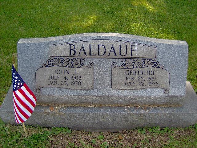 Gertrude <i>Barnhart</i> Baldauf