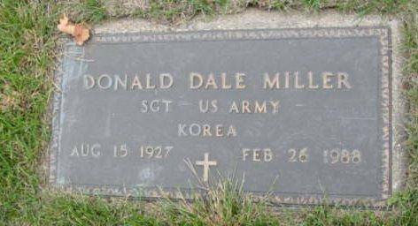 Sgt Donald Dale Miller