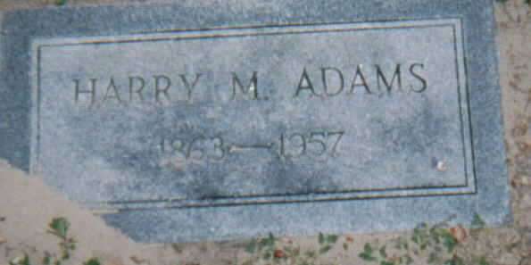 Harry Morton Adams