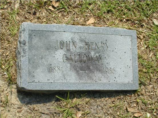 John Henry Sewell Galloway