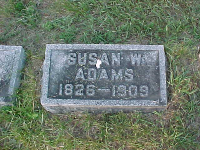 Susan W <i>Wood</i> Adams