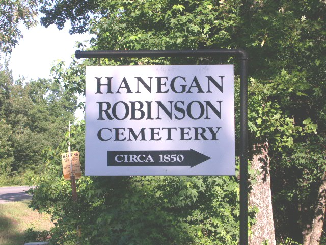 Hanegan Robinson Cemetery