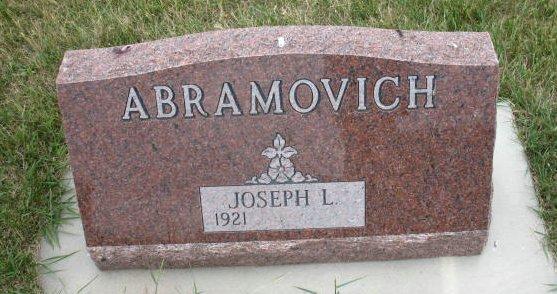 Joseph L Abramovich