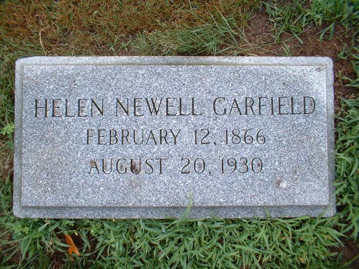 Helen Hills <i>Newell</i> Garfield