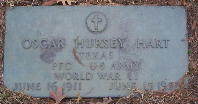 Oscar Hursey Hart