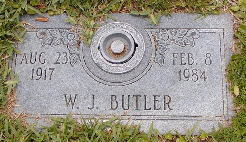 W J Butler
