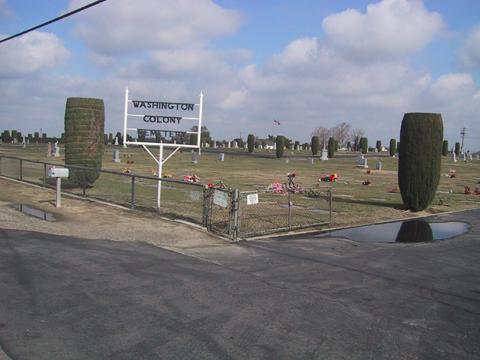Washington Colony Cemetery