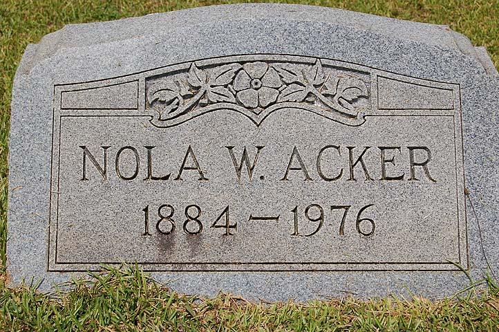 Nola Katherine <i>Woodson</i> Acker
