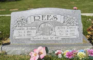 Affra <i>Pettit</i> Rees