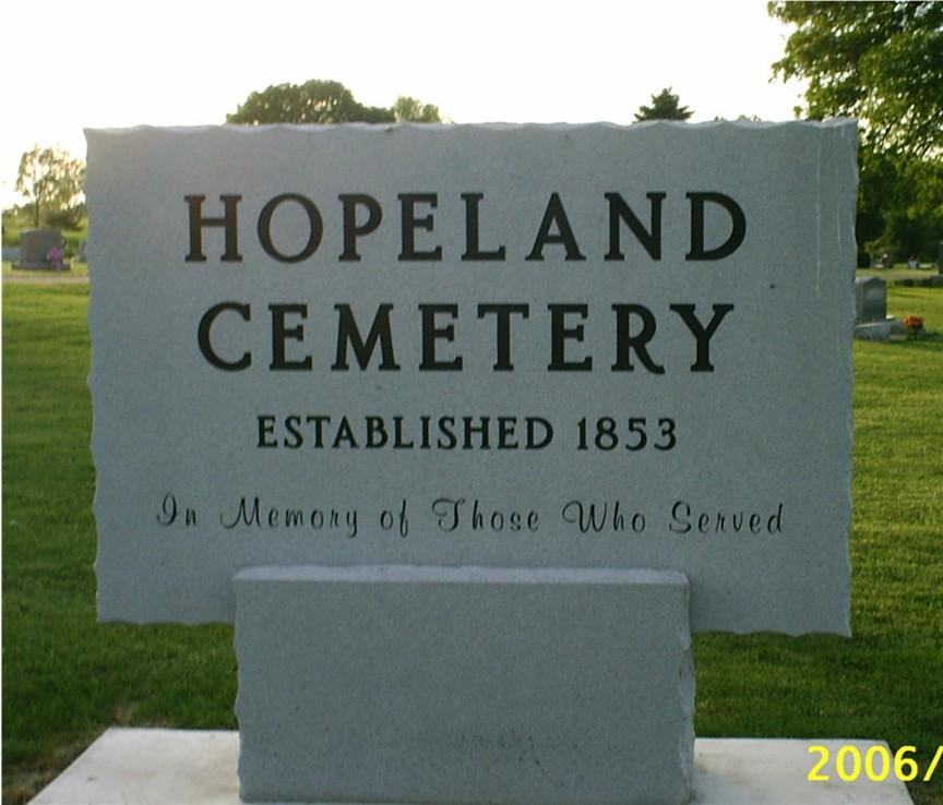 Hopeland Cemetery
